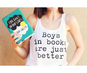book, boys, and the fault in our stars image