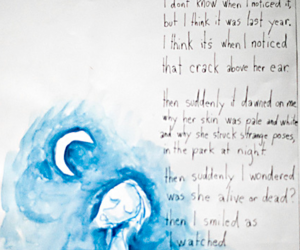 girlfriend, poem, and tim burton image