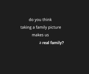 family portrait, photograph, and quote image