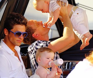 family, neil patrick harris, and baby image