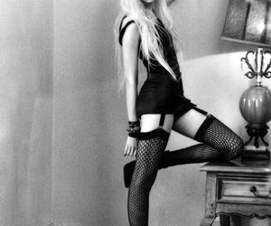 beautiful, black and white, and pretty reckless image