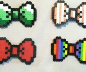 bow, 8 bits, and color image