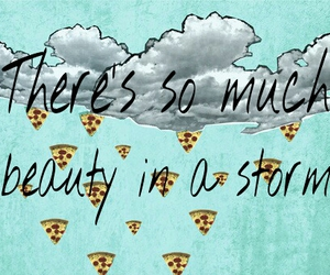 food, phrase, and pizza image