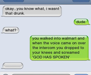 funny, drunk, and god image