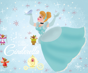 disney and cinderella image