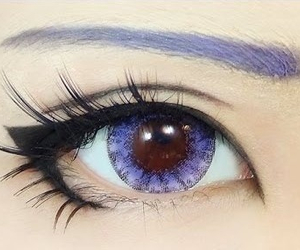 anime, beauty, and eyes image