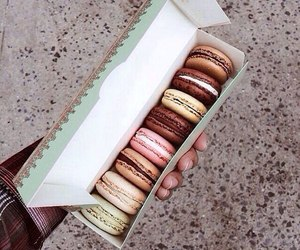 colors, macarons, and еда image