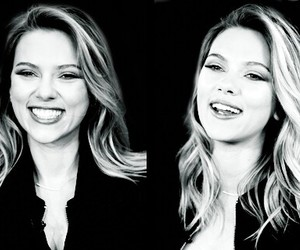 beautiful, Scarlett Johansson, and smile image