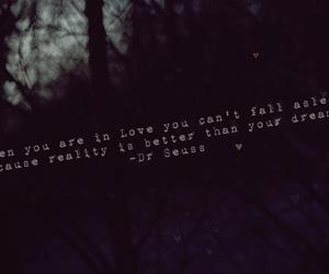 dark, typography, and love image