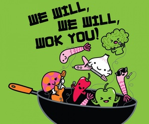 food, green, and funny image