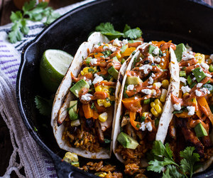 Chicken, food, and mexican food image