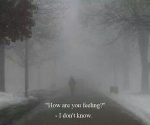 alone, feel, and sad image