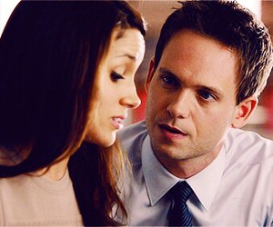 mike, rachel, and suits image