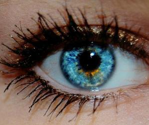blue, beautiful, and eyes image