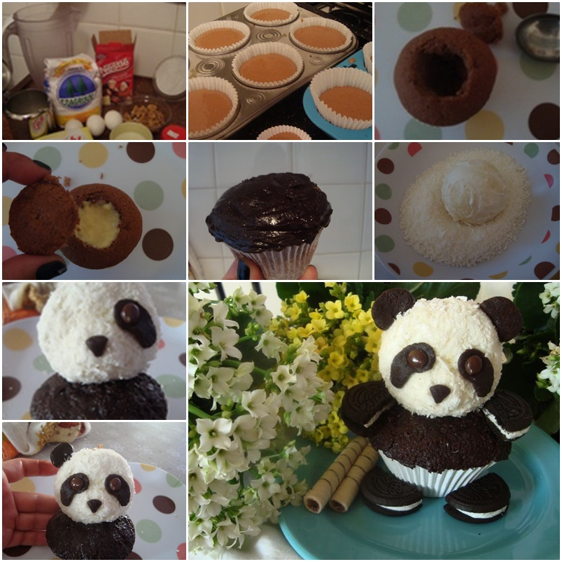 Cute Panda Cupcakes They Are Great For A Quick Snack Kid S Party