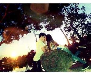 boy, kiss, and me image