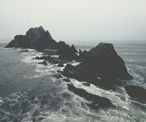 sea, ocean, and grunge image