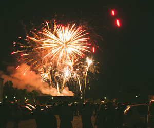 fireworks, indie, and night image