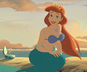 disney, mermaid, and ariel image