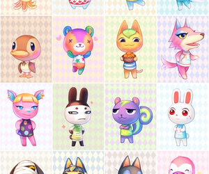 animal crossing new leaf and acnl image