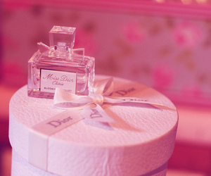 miss dior and perfume image