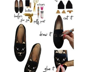 diy, black, and shoes image