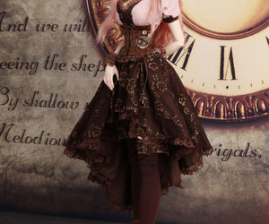 doll, kawaii, and steampunk image