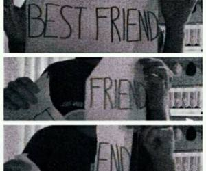 friends, end, and sad image