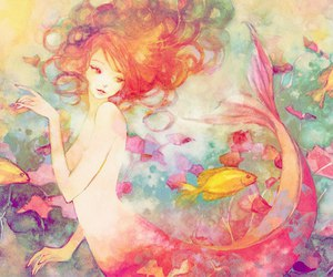 eternal, mermaide, and weightlessness image