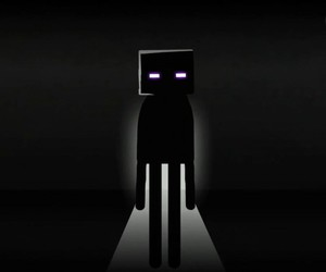 minecraft and enderman image
