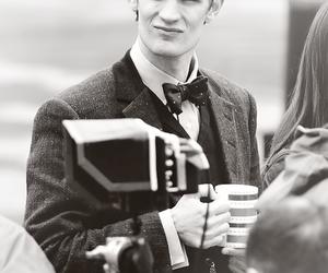 matt smith, doctor who, and tardis image