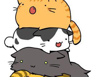 cat, kawaii, and neko image