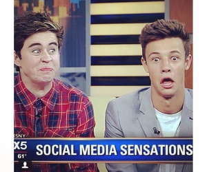 cameron dallas, nash grier, and funny image