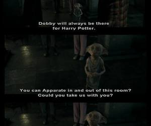 harry potter, elf, and dobby image