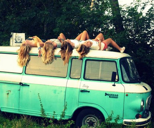 blonde, girls, and Road Trip image