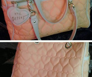 bags, betsey johnson, and handbag image