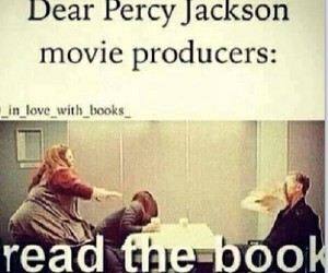 book, percy jackson, and funny image