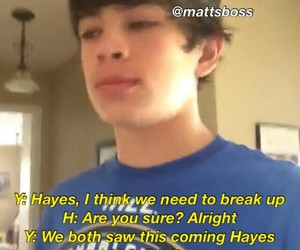 imagine, twitter, and hayes image