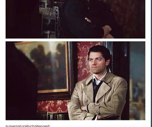 dean winchester, supernatural, and castiel image