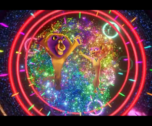 colorfull, dance, and madagascar image