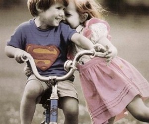 little, superman, and cute image