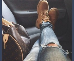 bag, boot, and boots image