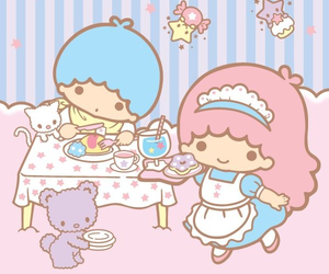 little twin stars and sanrio image