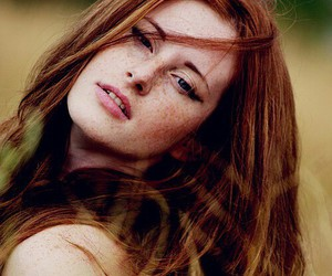 beautiful, ginger, and nature image