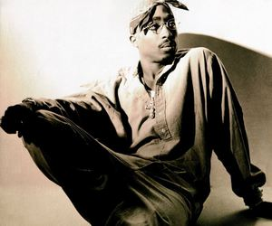 2pac, 90s, and handsome image