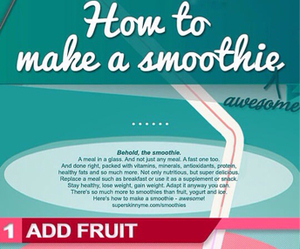 smoothie, healthy, and fruit image