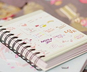 notebook and book image