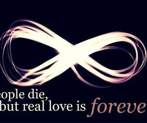 forever, infinity, and people image