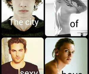 boys, Kevin Zegers, and shadowhunters image