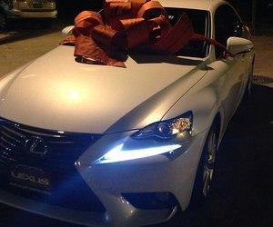car, luxury, and lexus image
